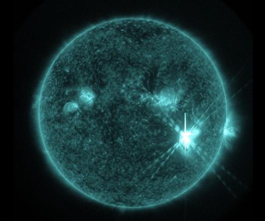 コロナガスは人体に影響はないのか?太陽フレア恐るべし!